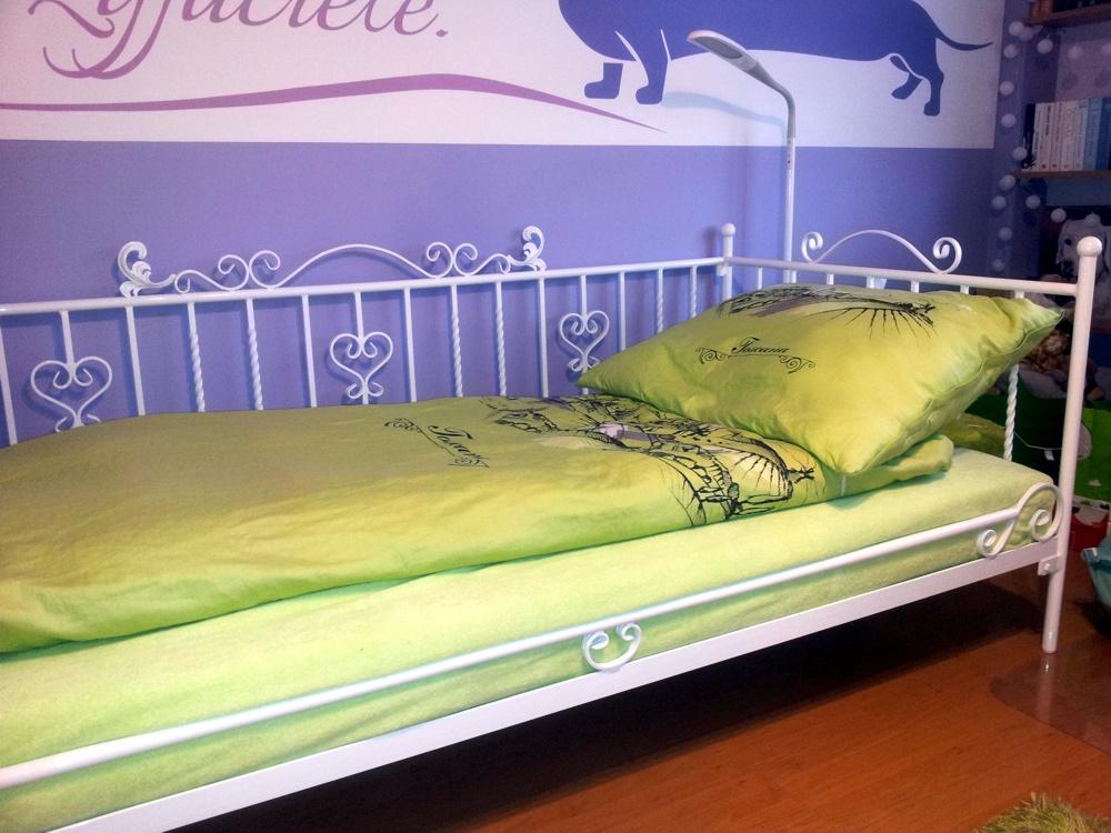 łóżko metalowe Lak System u Klienta