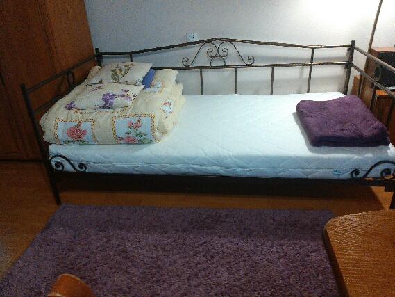 łóżko metalowe Lak System zdjecie Klienta