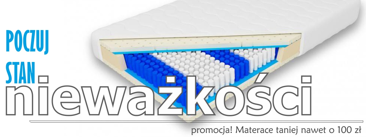 promocja na materace